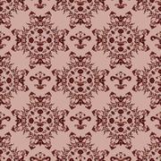 vector seamless pattern - stock illustration