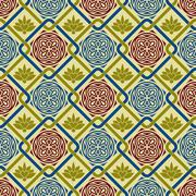 vector seamless pattern - stock illustration