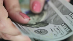 Living Converters dollars Stock Footage