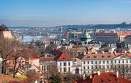 Stock Photo of view of the historical districts of prague