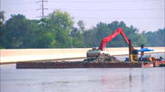 Barge New Orleans Stock Footage