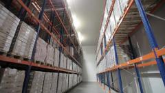 warehouse logistics 8 - stock footage