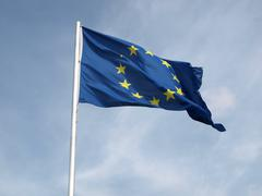 Stock Photo of Flag of Europe