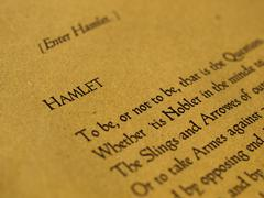 Stock Photo of William Shakespeare Hamlet