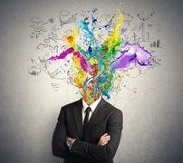 Creative mind Stock Illustration