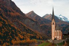 Famous church - stock photo