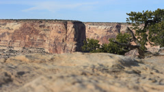 Low redrock canyon - stock footage
