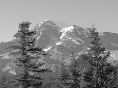 Mount Rainier, Washington - stock photo