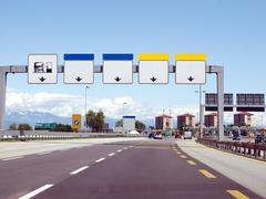 Stock Photo of Motorway