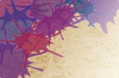 Abstract blot background. Stock Illustration