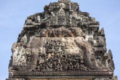 angkor wat, siem reap, cambodia - stock photo