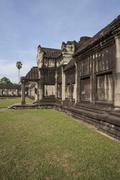 Angkor wat inside detail. cambodia Stock Photos