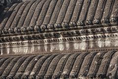 Roof angkor wat inside detail. cambodia Stock Photos