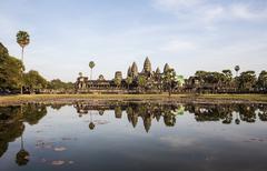 Angkor wat, siem reap, cambodia Stock Photos