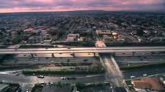 Aerial Red Epic Dragon footage Stock Footage