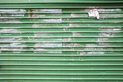Green zinc texture background Stock Photos