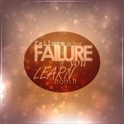Stock Illustration of failure is not failure