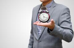 Stock Photo of give more time concpet