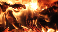 Fire loop 1 Stock Footage