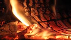 Fire loop 2 Stock Footage