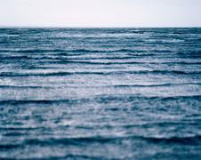 Baltic Sea at a beach in denmark - stock photo