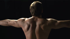 Bodybuilding Effects Stock Footage