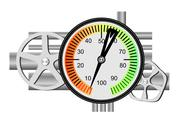Stock Illustration of fuel meter