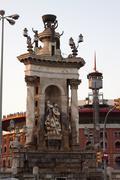 Monument Square Espanjan Kuvituskuvat