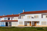 Stock Photo of unrecognizable part of residential house at algarve, portugal