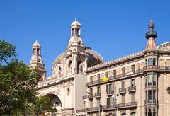 Stock Photo of house at Passage-de-Gracia, Barcelona