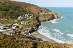 St Agnes North Cornwall England UK between Newquay and St Ives Stock Photos
