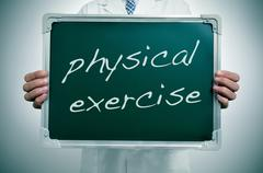 Stock Illustration of physical exercise