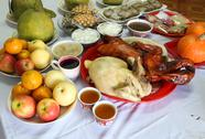 Stock Photo of various food for chinese new year culture