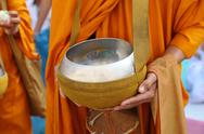 Stock Photo of buddhist monk's alms bowl