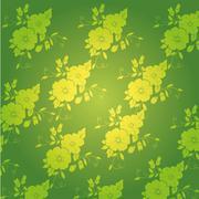 Beautiful flower backgrounds Stock Illustration