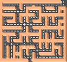 Stock Illustration of road labyrinth