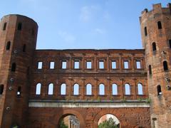 Porte Palatine, Turin Stock Photos