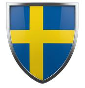 Stock Illustration of sweden flag