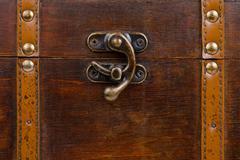 Stock Photo of Metallic lock