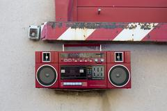 Radio outside Stock Photos