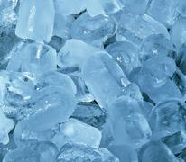 Ice blocks Stock Photos
