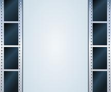 Stock Illustration of blank photo, video template