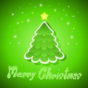 Stock Illustration of christmas greeting card. illustration