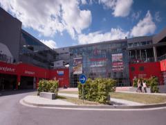 Central building Nurburgring Stock Footage