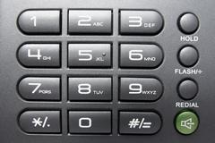 Telephone keypad , business background Stock Photos
