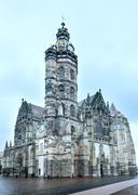 St. elisabeth cathedral (kosice, slovakia) Stock Photos