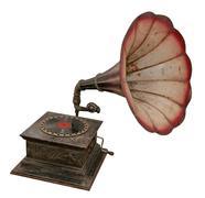 äänen ulostulo levysoitin tai gramofoni Kuvituskuvat