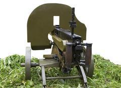 Maxim machine gun - stock photo