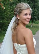 Young nice bride Stock Photos