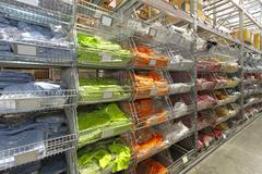 Textile warehouse Stock Photos